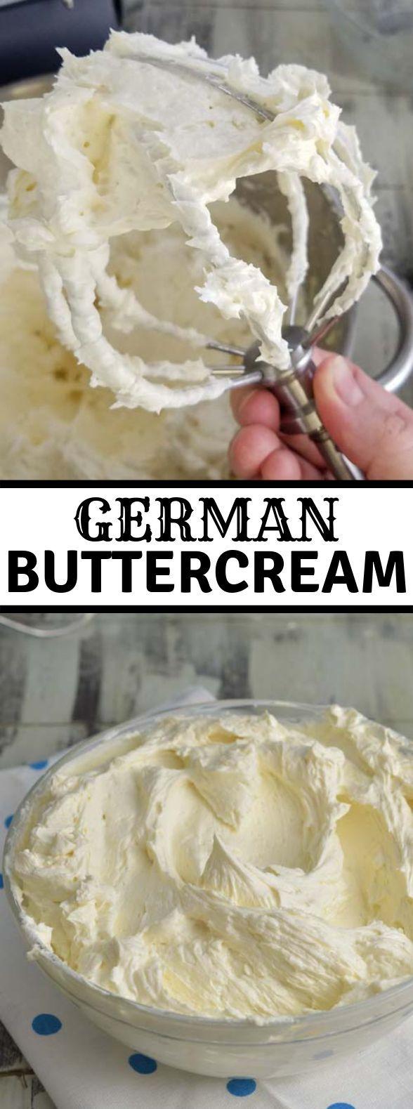 #Buttercreme #Tauen #Dessert #Deutschland #Süßigkeiten #Deutsch #icingfrosting