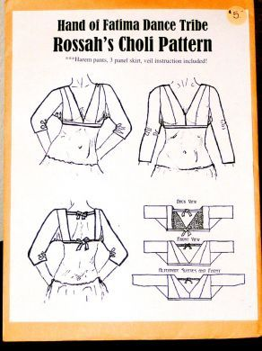 Choli Pattern, not SCA, but I drew the art for this pattern for my Devi/Teacher many moons ago. and I'm amused at what is pinned.