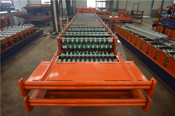 Application Of Double Layers Roofing Sheet Roll Forming Machine Roll Forming Roofing Sheets Roofing