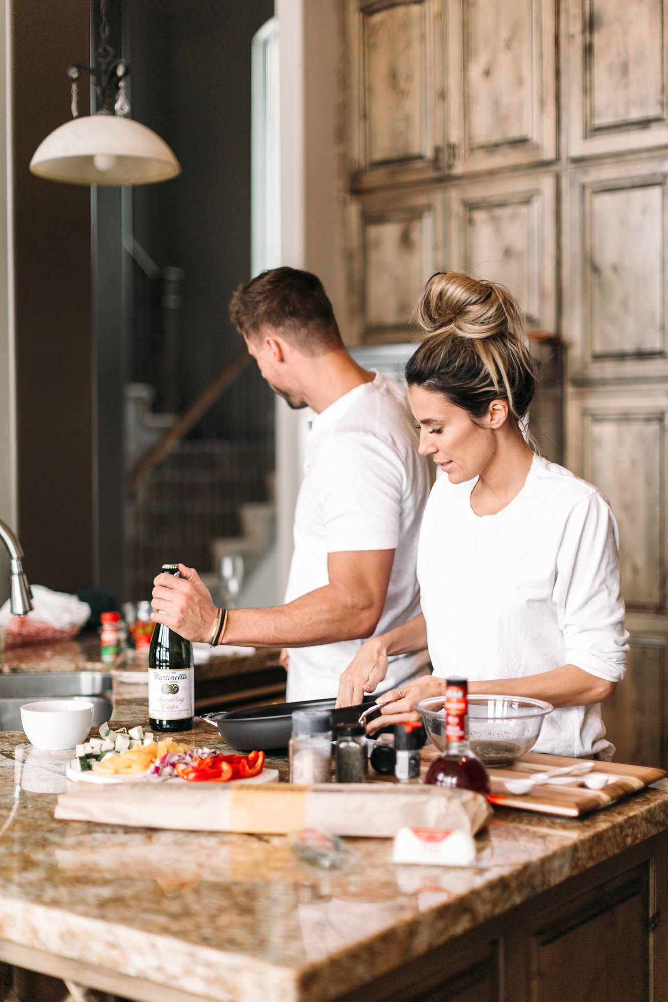 Dating and cooking show