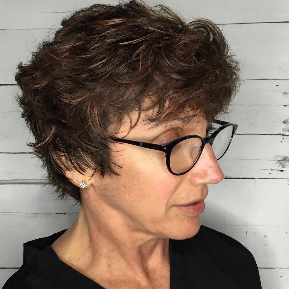 Punk Rock Business Woman Older women hairstyles, Heart