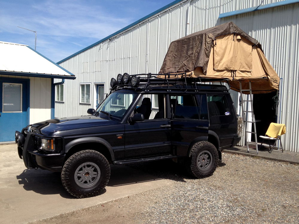Overland Rover Land Rover Discovery 1 Land Rover Discovery Land Rover