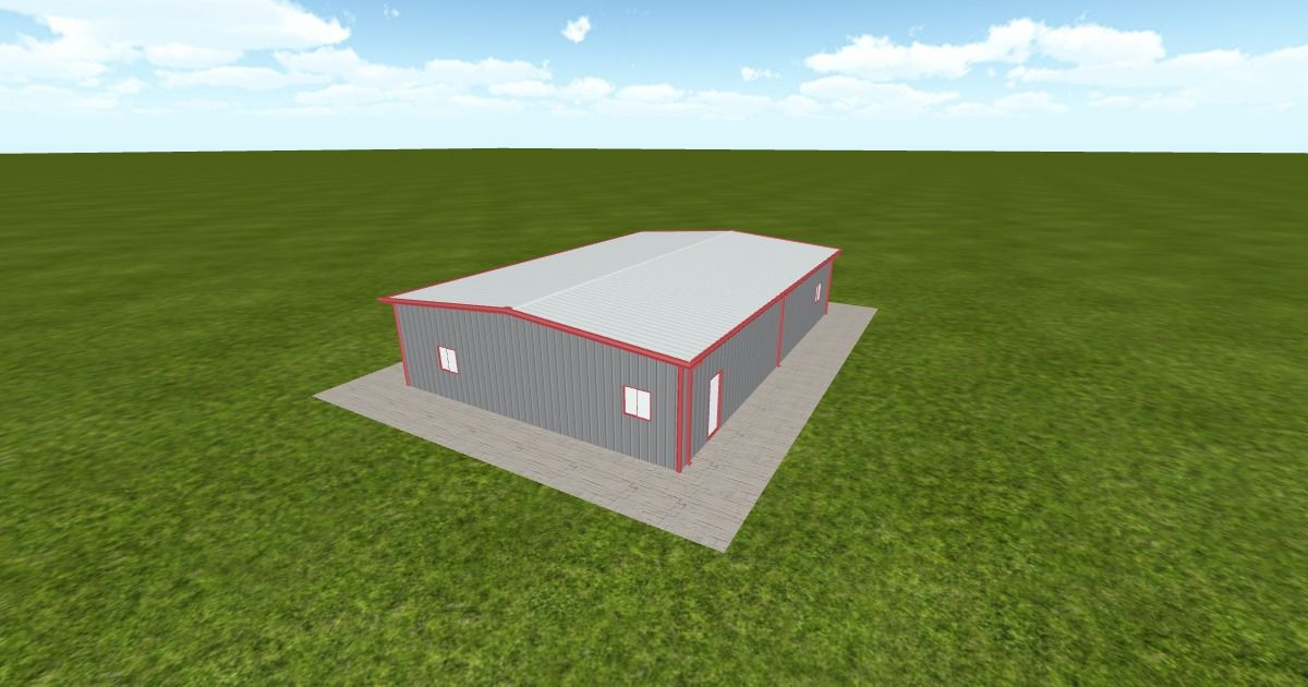 Dream #steelbuilding built using the #MuellerInc web-based 3D #design tool http://ift.tt/1RkhjHd