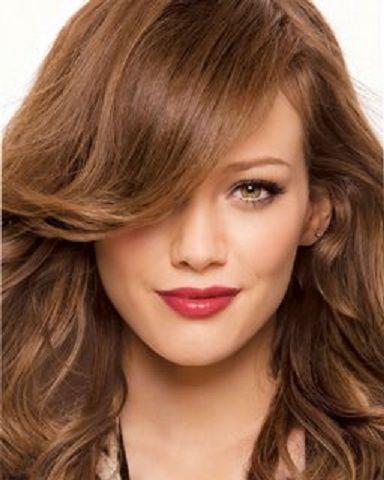 Color de pelo rubio dorado claro
