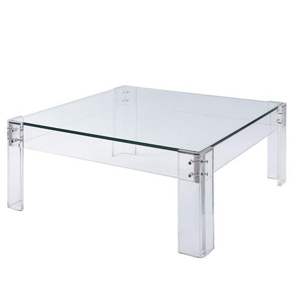Wisteria Furniture Shop By Category Coffee Tables Acrylic Table With Glass Coffee Table 899 Acrylic Coffee Table Coffee Table Coffee Table Square