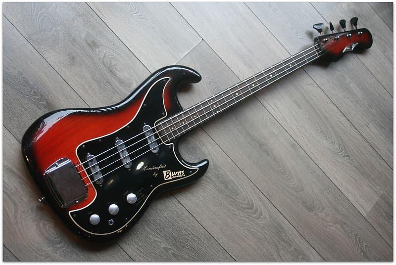 Burns Jazz Bass Serial Nº 7471 Made In England 1965 Estudio 54 Reverb In 2020 Vintage Bass Guitars Guitar Bass