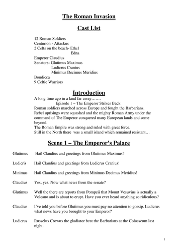 Charlie And The Chocolate Factory Play Script Ks