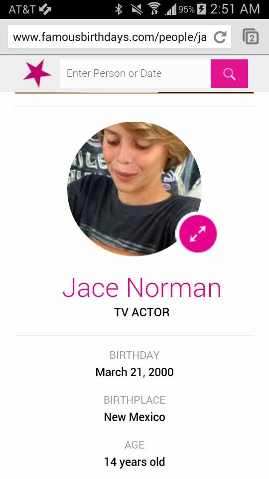 Jace Norman ( Henry hart in Henry danger