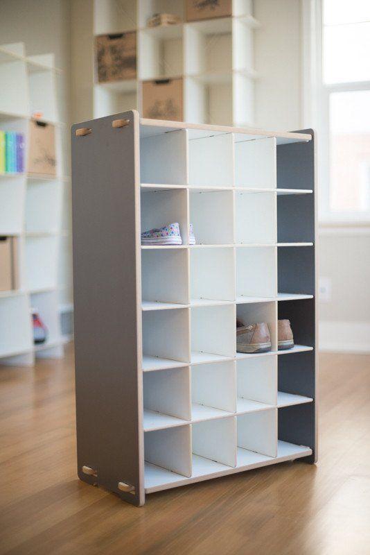 Kids Shoe Cubby Storage | Kids Shoe Organizer