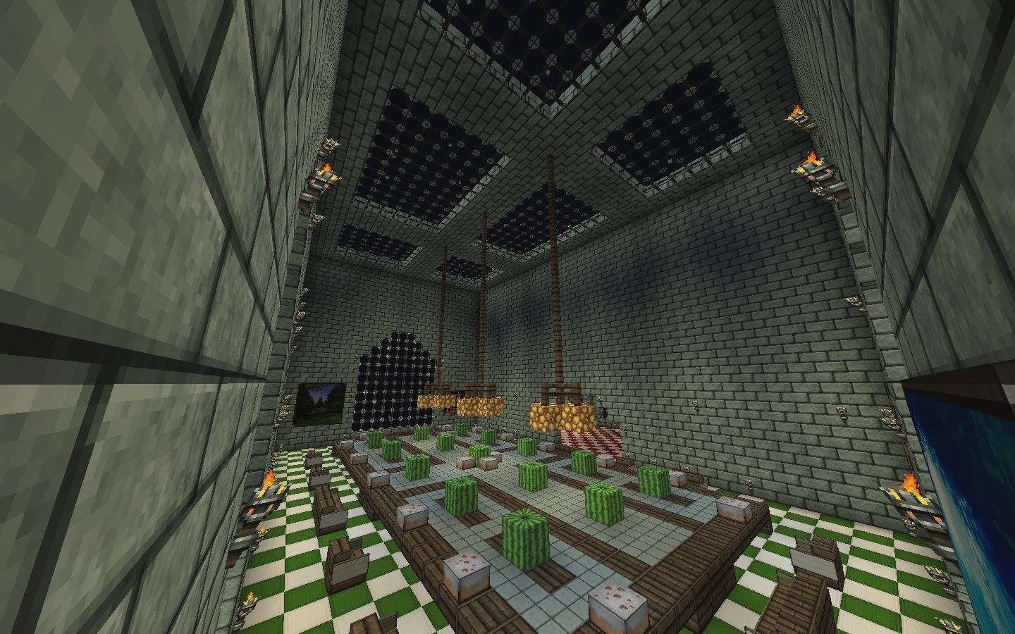 Minecraft Dining Room Design