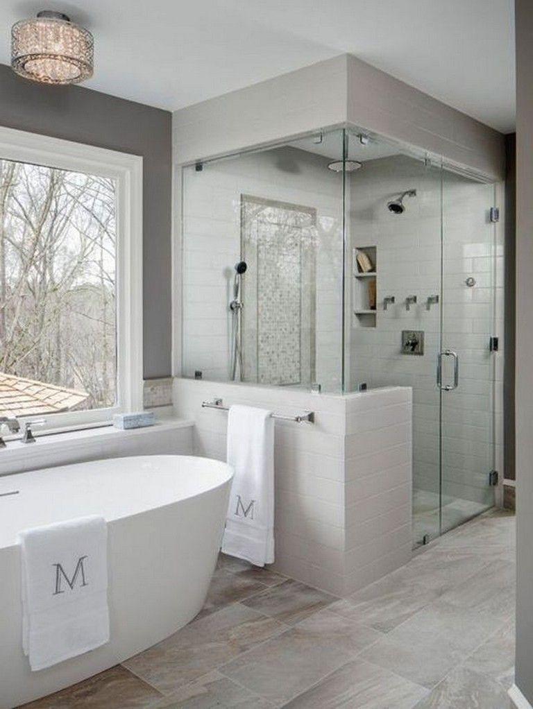 25 Awesome Master Bathroom Renovation Ideas Bathroomdecor Bathroomremodel Bathro Bathroom Remodel Designs Bathroom Remodel Master Master Bathroom Renovation