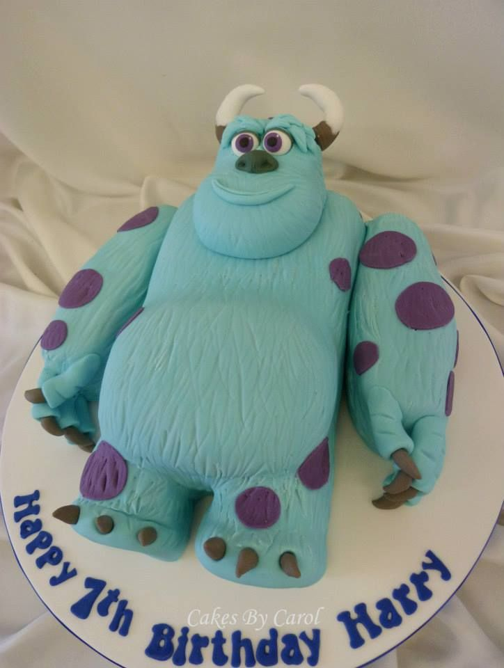 Monsters Inc Cakes Pinterest Monsters Inc Monster Inc Cakes