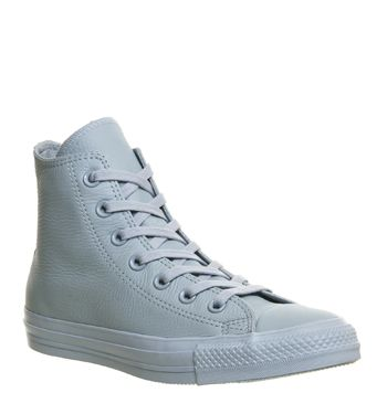 Converse All Star Hi Leather Baby Blue