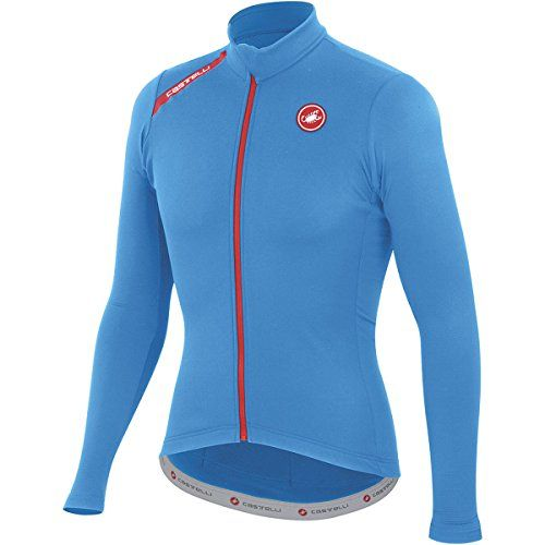 Castelli Puro Jersey LongSleeve Mens Drive Blue L     Read more at the image a504ad186