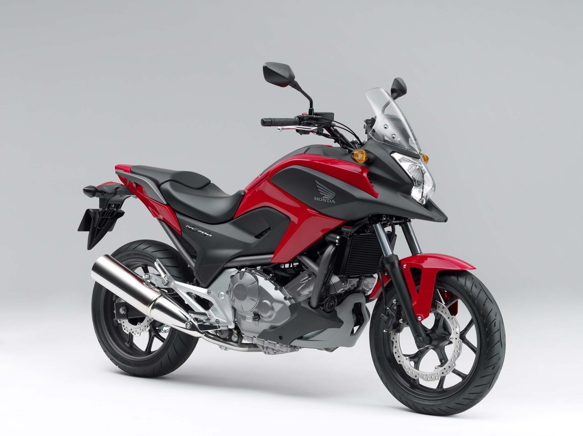 Honda Has Present New Nc700x Model This Motorcycle Is Very Strong