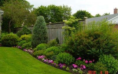 Flower Garden Designs Flowers Three Season Bed Gardening