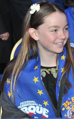 Princess Alexandra of Hanover is the only child of Ernst August, Prince of Hanover, and Caroline, Hereditary Princess of Monaco.