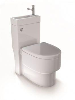 Aquarius Combination Toilet Basin Spacesaver Wc Aqsswc Amazon Co Uk Diy Tools Small Toilet Toilets And Sinks Small Toilet Design