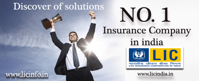 Top 1 Insurance Companies In India Lic Of India Life Insurance