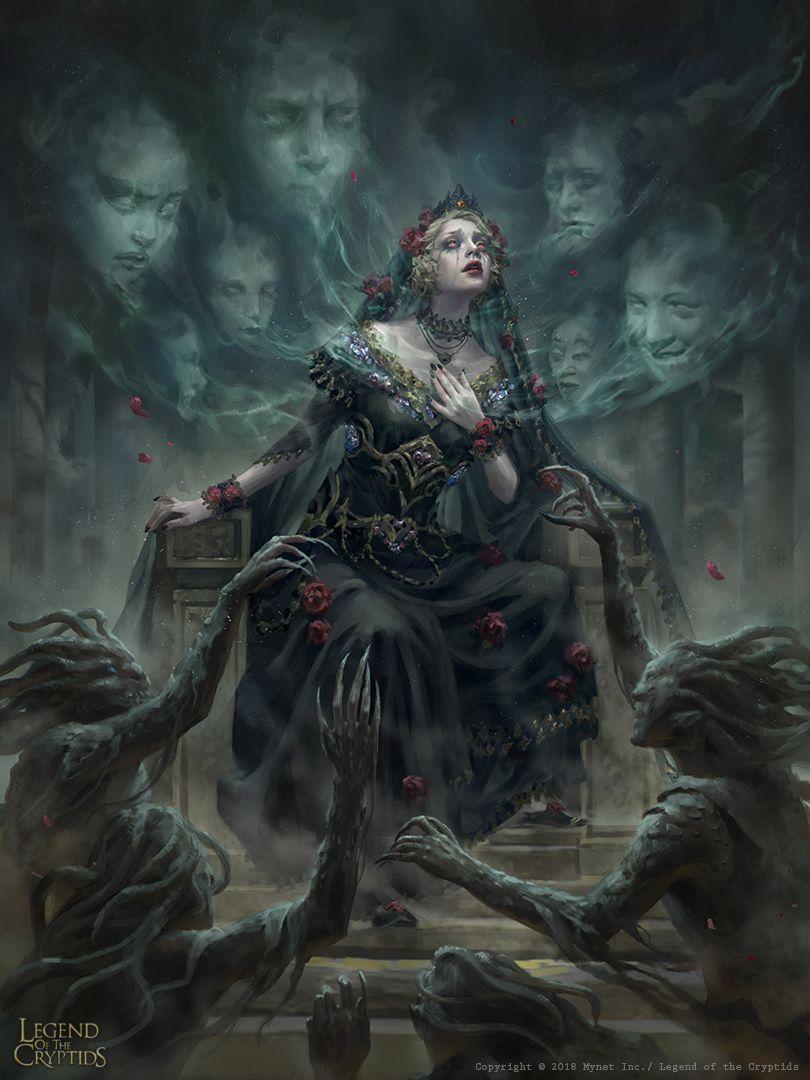 Princess Of Ghouls By Dopaprime Dark Fantasy Art Gothic Fantasy Art