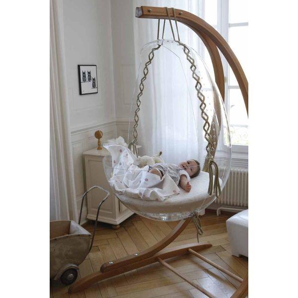 D coration int rieure chambre b b nursery fille gar on unisexe bois original berceau - Deco chambre original ...