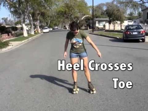 ▶ Backwards Basics (Lesson 3) we RollerSkate - YouTube