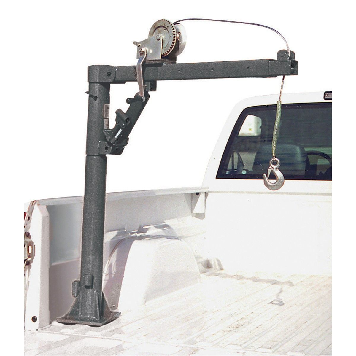 1 2 Ton Capacity Pickup Truck Crane With Cable Winch In 2018 Harbor Freight Camo Atv Wiring Diagram