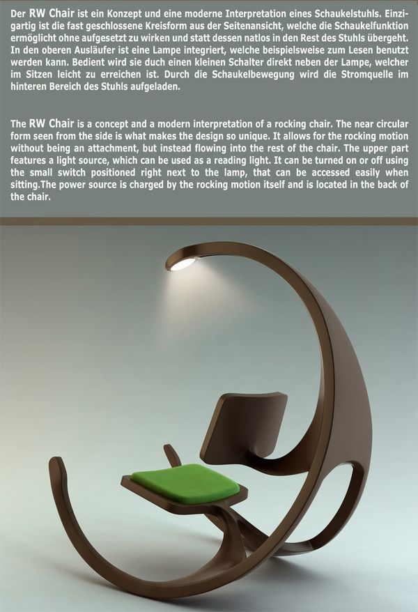 Love To Have It In My Living Room Funky Furniture Rocking Chair Cool Chairs