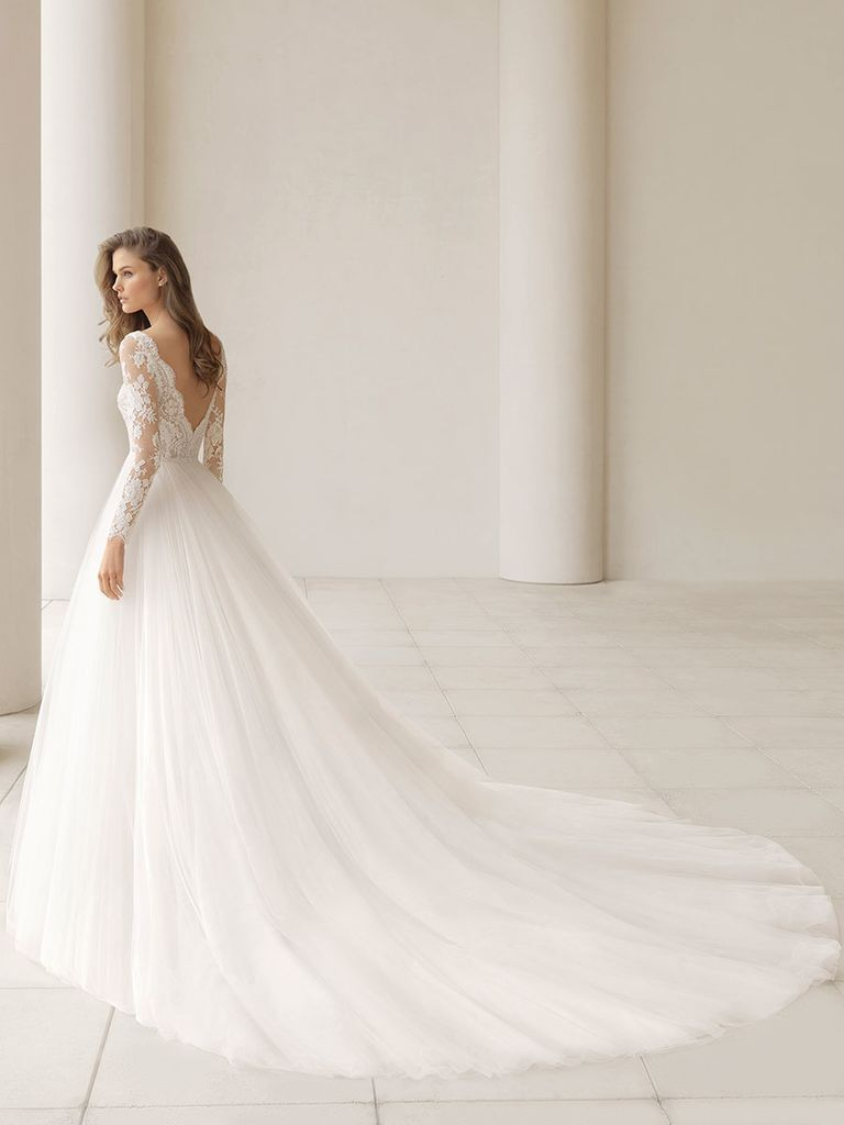 Rosa clará fall evocatively romantic and ethereal wedding