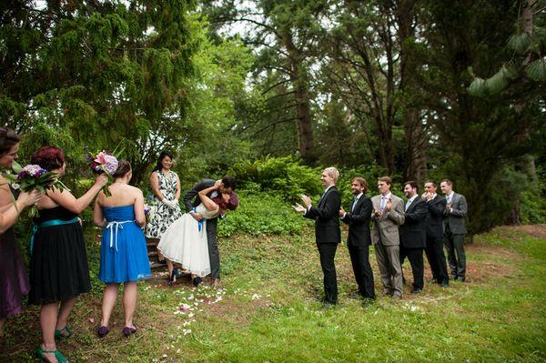 Washington Park Arboretum Wedding Intimate Seattle Garden By Rennard Photography