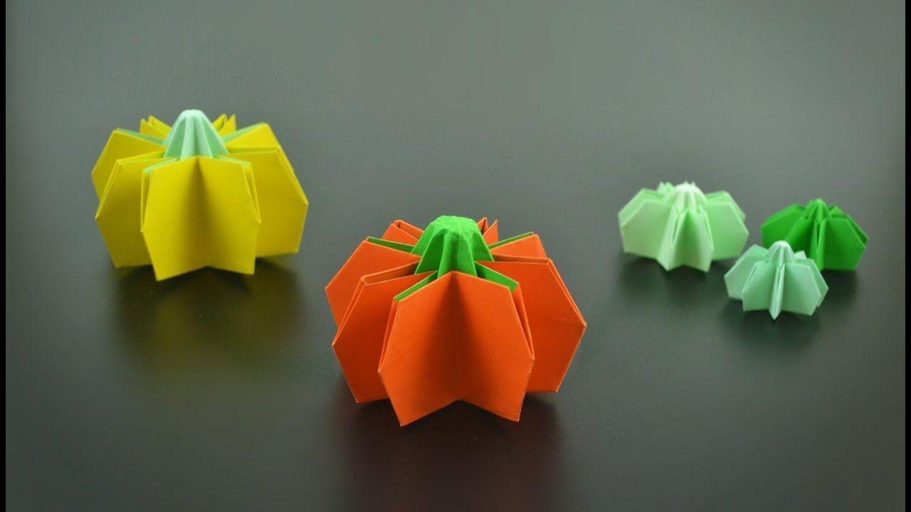 折り紙 フラワーボックス Origami flower box - YouTube | Paper art ... | 720x1280