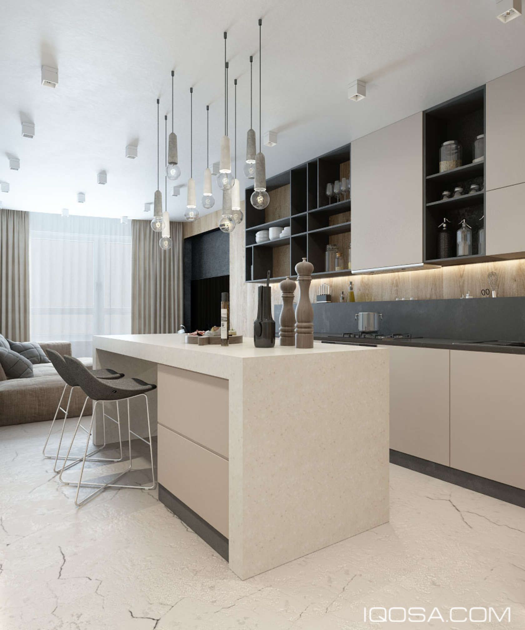 An Approachable Take On Luxury Apartment Design | Pinterest | Devis ...