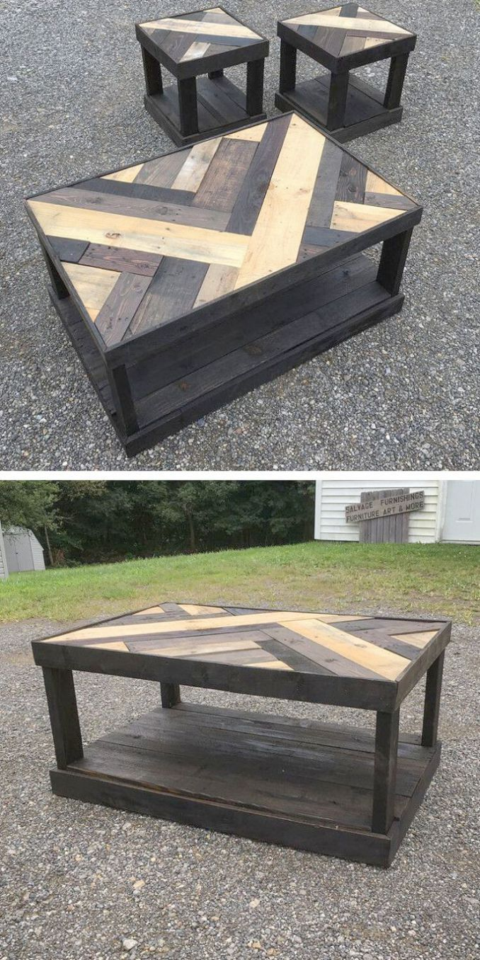 Powell Ella Round Table | Pallet projects furniture, Diy ...