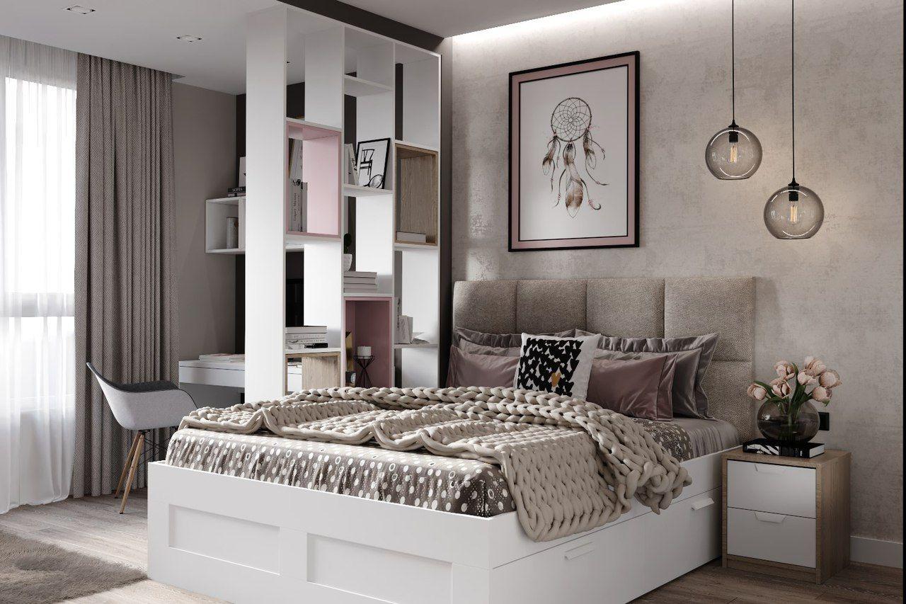 Foto ДИЗАЙН СТУДИЯ А+Б Home decor bedroom, Luxurious