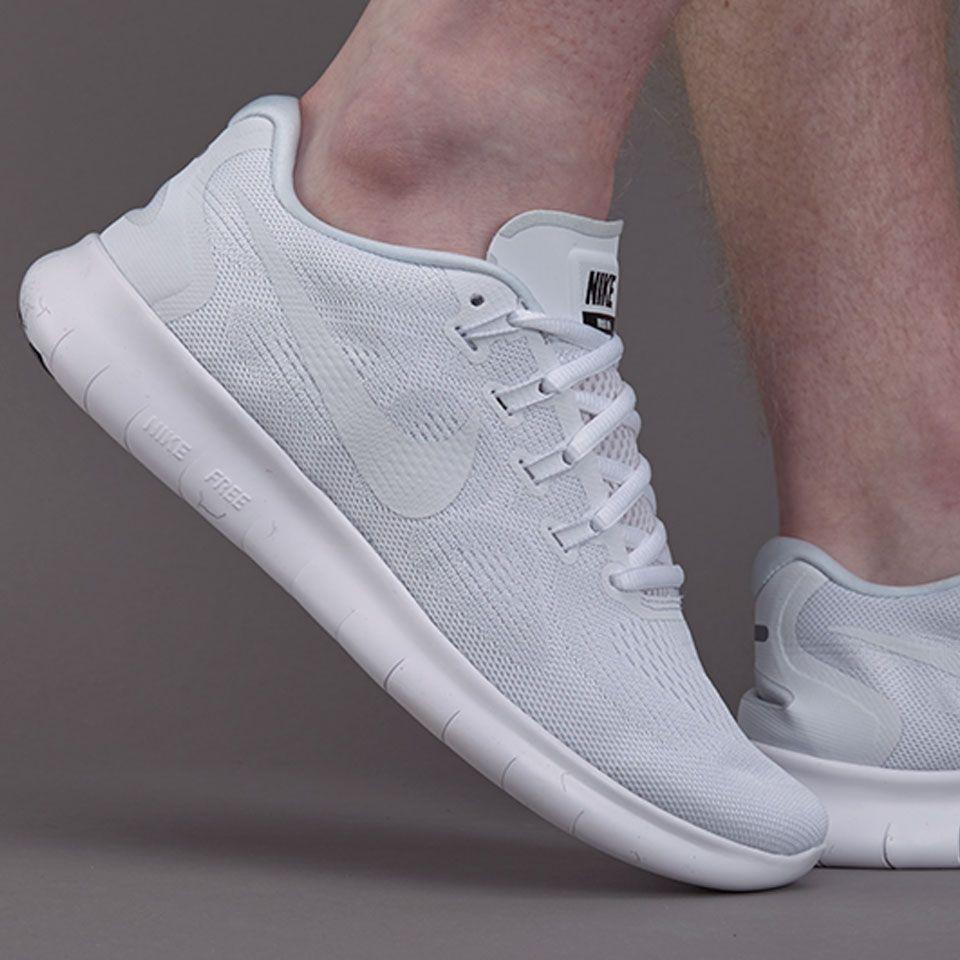 72c76e669190 Nike Free Rn 2017 - White White-Black-Pure Platinum