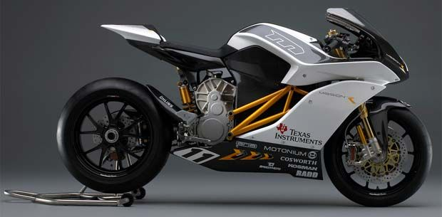 Mission R Electric Superbike Damodaran Baktavatsalaraj