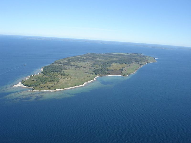 Private Islands For Sale Galloo Island New York State Usa