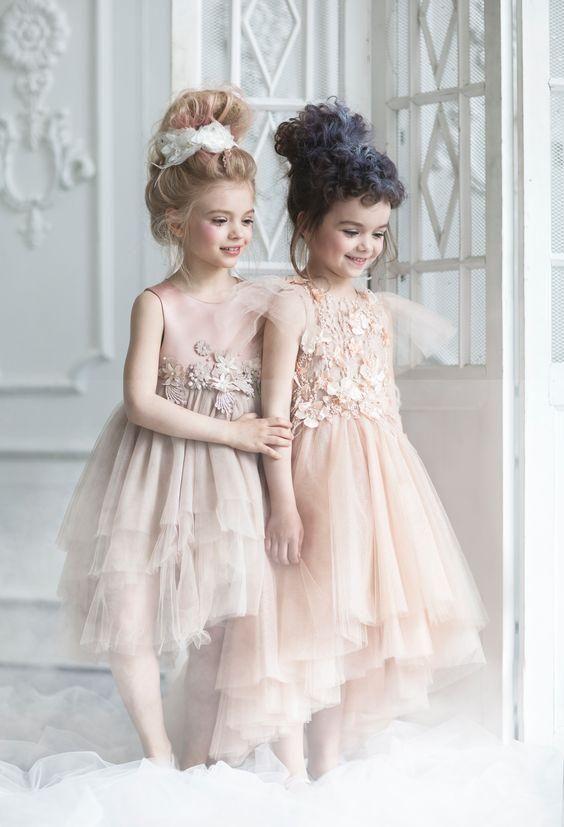 Inspire Idea Of Flower Girl Dress For Wedding Party Part 8 Flower Girl Dresses Vintage Girls Dresses Kids Dress