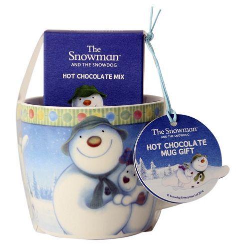 The Snowman Mug And Hot Chocolate Gift Set Snowman Mugs