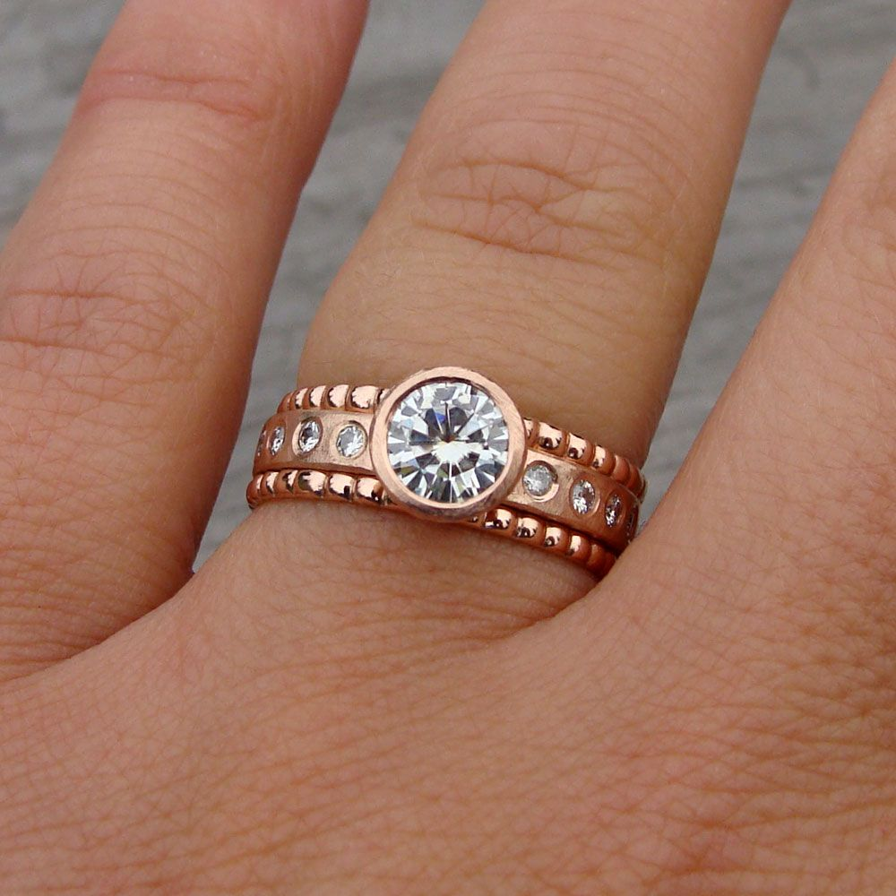rose gold recycled