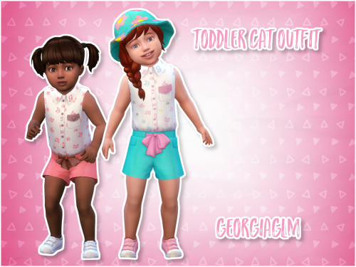 Toddlers Cat Outfit By Georgiaglm Via Tumblr Toddler