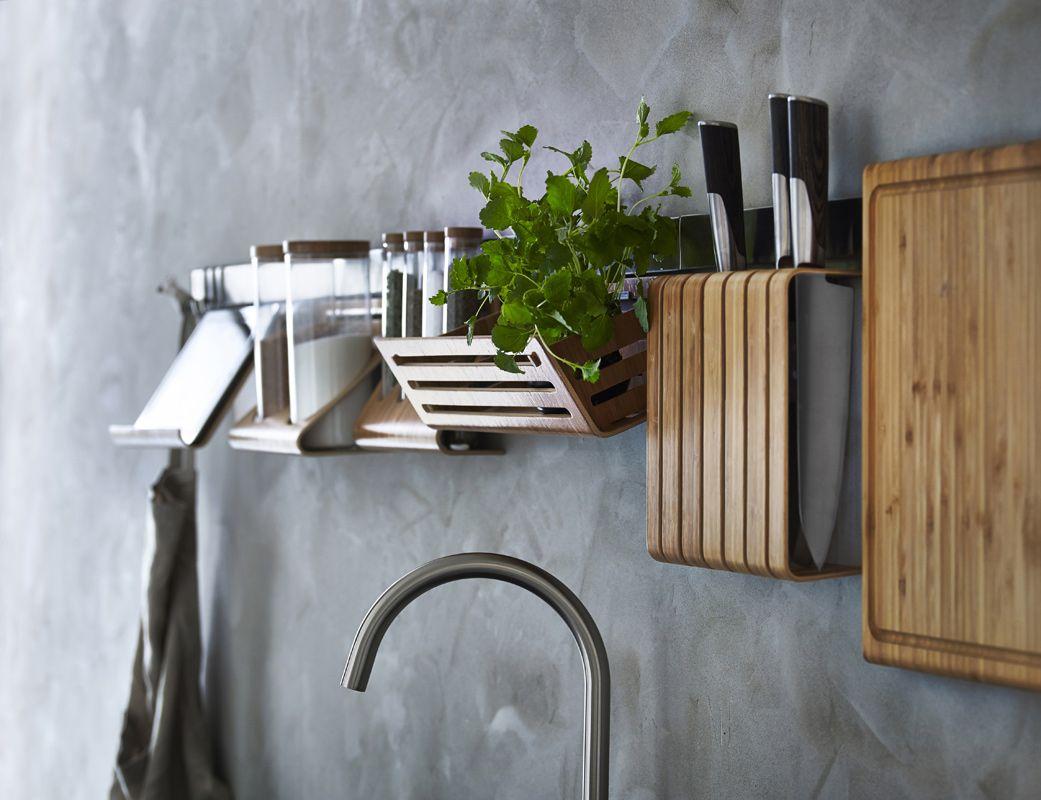 Küchen Reling Rimforsa Ikea  Küche und haushalt, Ikea küchenideen