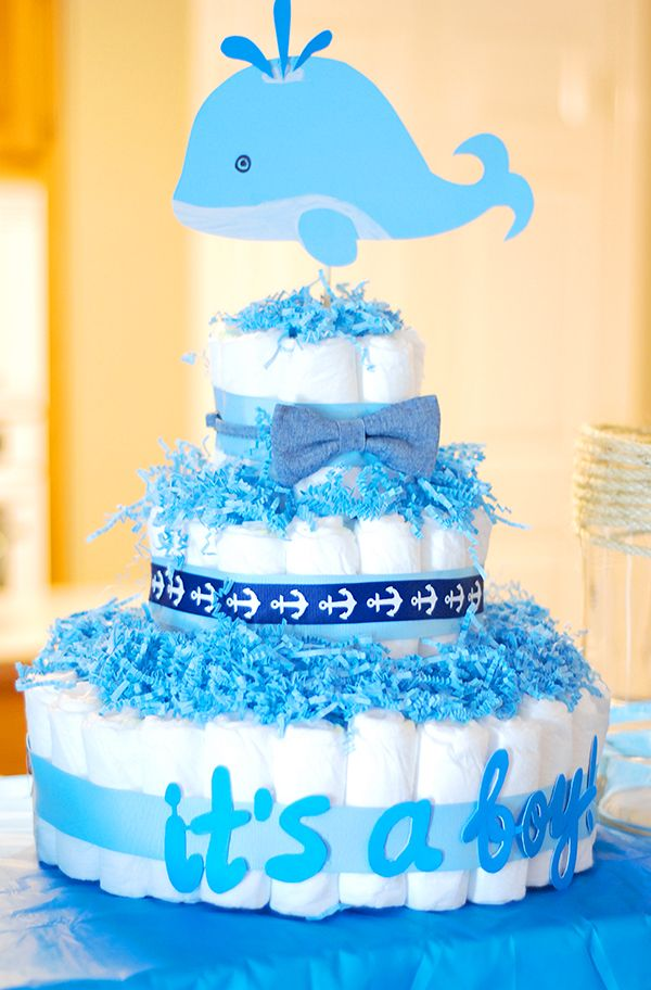 Whale Themed Baby Shower Ideas My Do It Yourself Pinterest