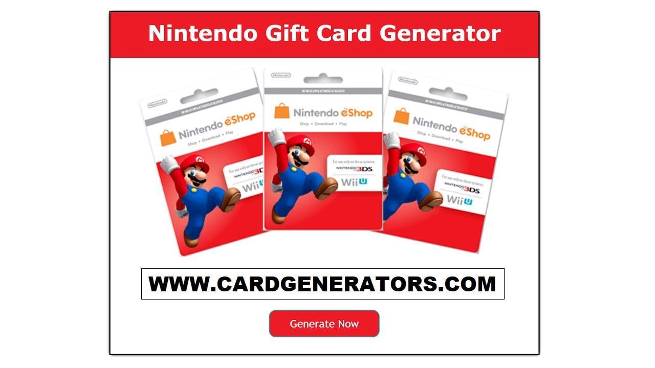 Nintendo eShop Code Generator can easily produce your personal