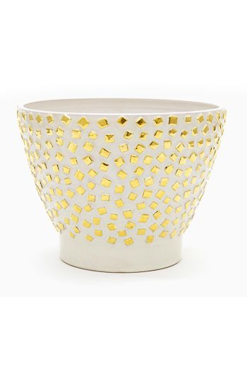 Kelly Wearstler Confetti Bowl, inspired by the Superstudio movement. #kellywearstler