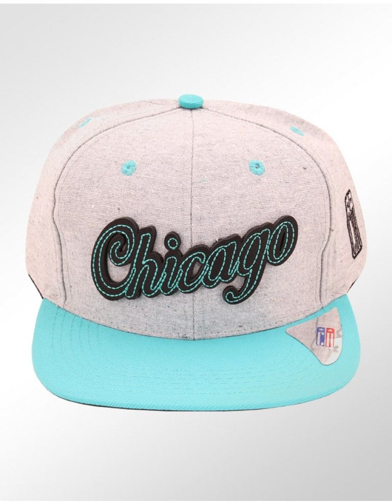 f13f9d0f76683 Boné Classic Hats Chicago Azul