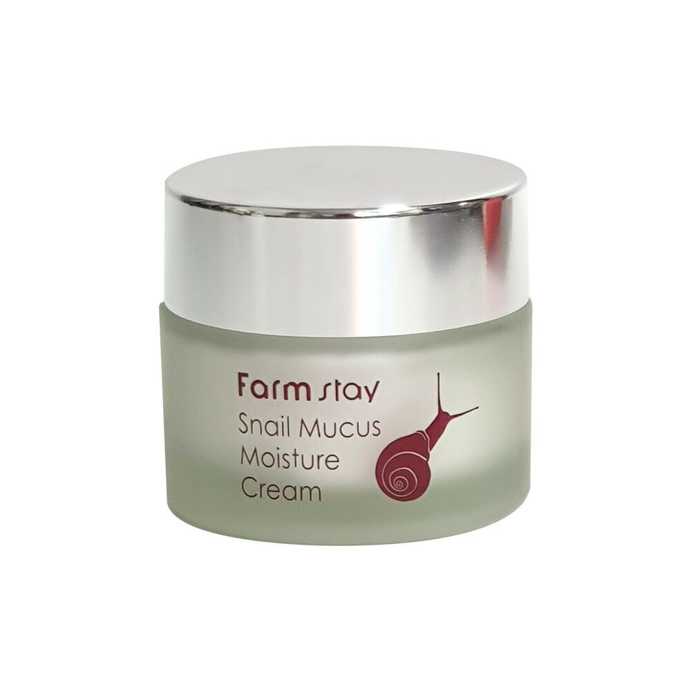 Farmstay Snail Mucus Moisture Cream Moisturizing Nourishing 50g Farmstay