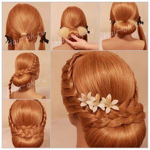 A Collection Of 20 Chic Hairstyles For All Occasions Peinados De Noche Peinados Con Trenzas Estilos De Pelo