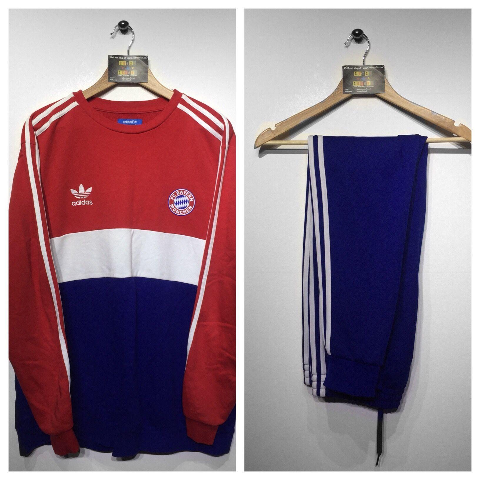 Tracksuit Adidas c Full Bayern F Munchen Size Xlarge WDH29YebEI