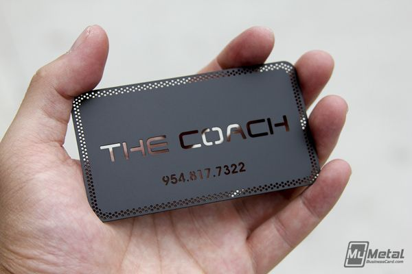 12 great business card designs to get your imagination going heres a black metal business card we produced recently that takes advantage of our chemical die cutting option this card features a mesh border and a colourmoves